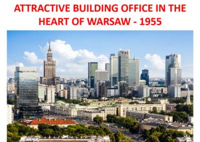 נכס מניב בניין משרדים בורשה למכירה